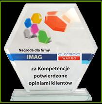 ASSECO WAPRO - nagroda za kompetencje IMAG