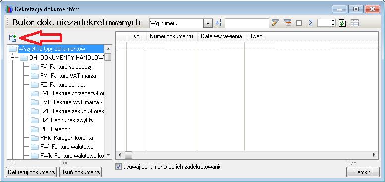 subiekt_fakir_fakir_dekretacja_dokumentow
