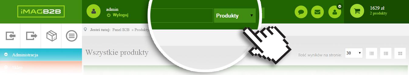 IMAG B2B - Wyszukiwarka produktów