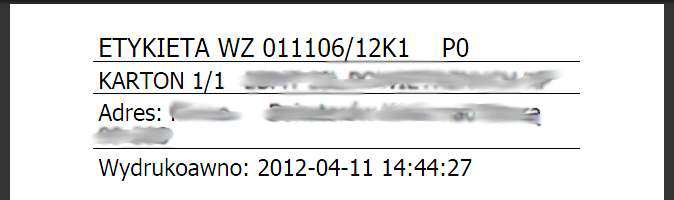 Arkusz Wyjazdów Dokument PDF