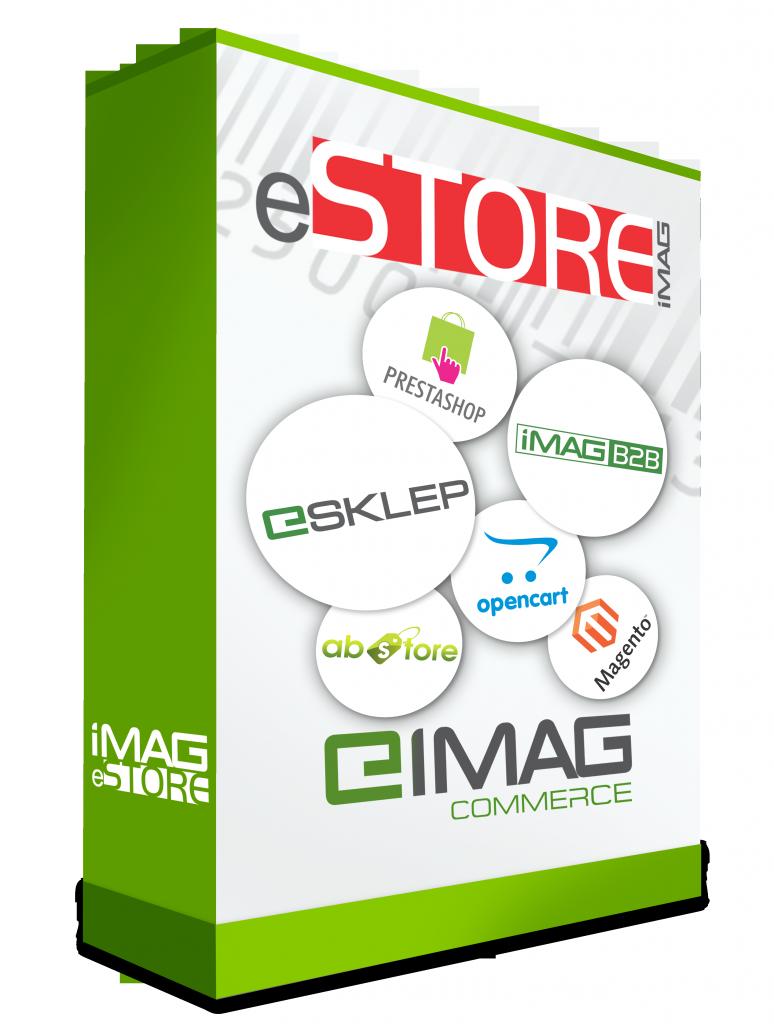 IMAG eStore - pudełko